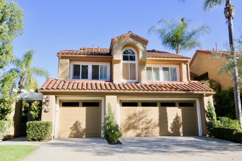 A beautiful two-story home sits in the quiet community of Turtle Rock Pointe in Irvine Ca.