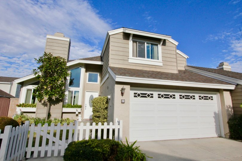 A beautiful home located in the Windwood Garden Homes of Irvine, CA.
