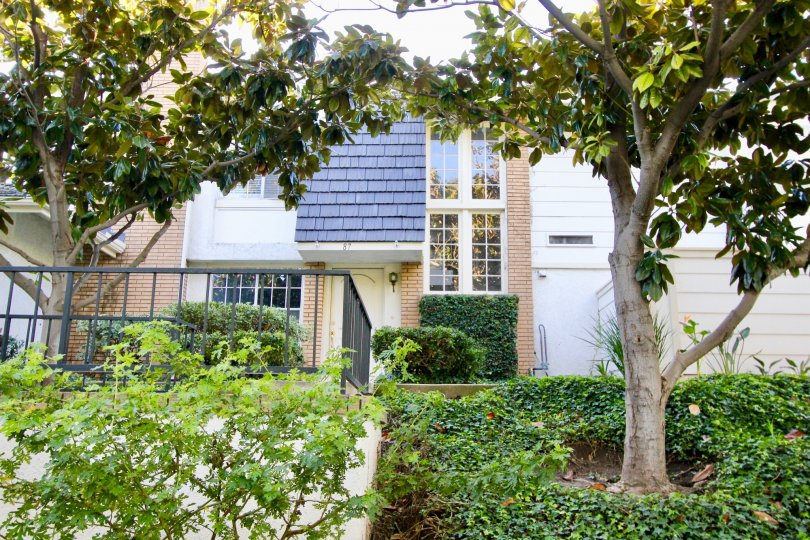 Pretty large white house with tiles in Woodbridge Estates, Irvine CA