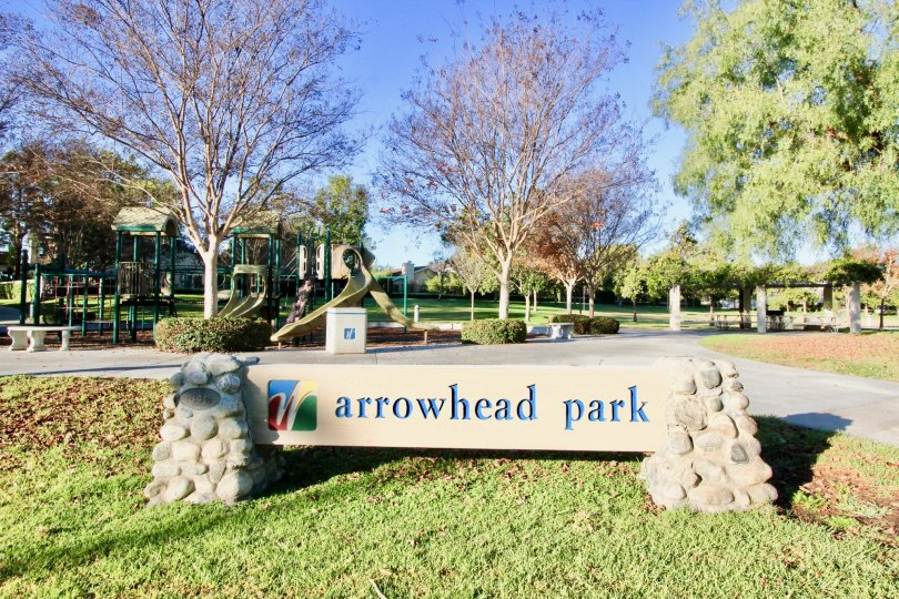 A NICE ARROWHEAD PARK WITH CHILDRENS PLAYING GROUND IN WOODBRIDGE ESTATES