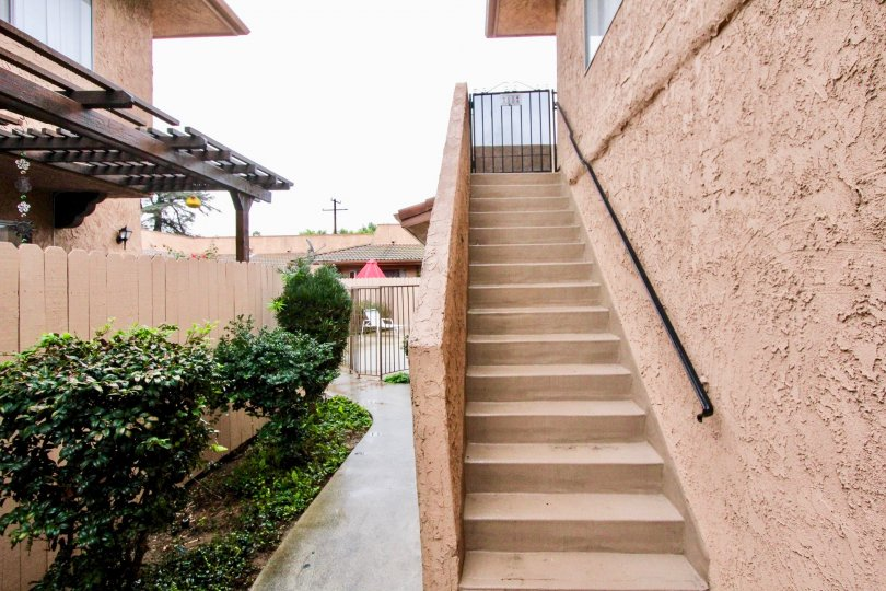 Fabulous villa with stair case and garden beside in Cerro Del Rey of La Habra