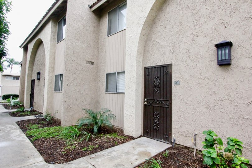 THE 20 APARTMENT IN THE MIRA VISTA WITH THE PLANTS, TREES