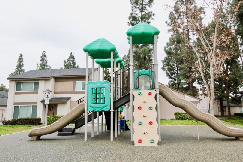 Play ground for the kids in this apartment at Sunny Hills Village in La Habra California