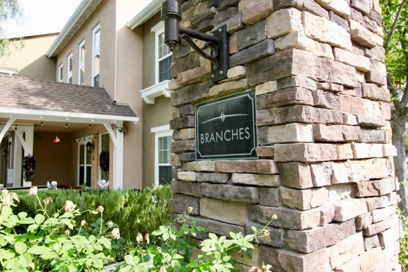 Friendly, inviting housing complex located in the Branches community of Ladera Ranch California