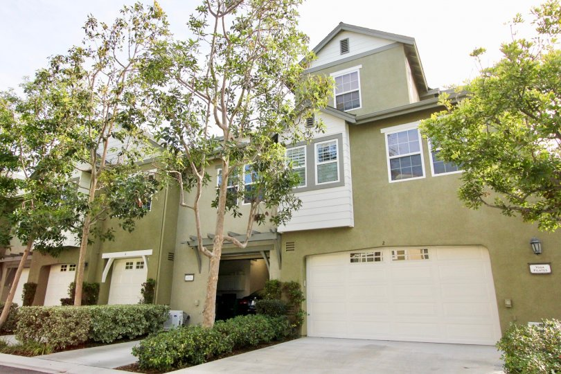 Beautiful green colour villa with trees of Branches in Ladera Ranch
