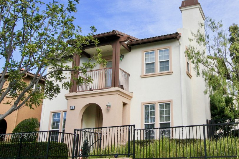 the greenbriar is a bis cut home of the ladera ranch city in california