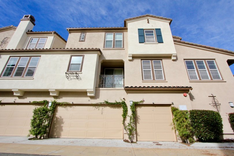 A three story house in Sansovino in Ladera Ranch, CA
