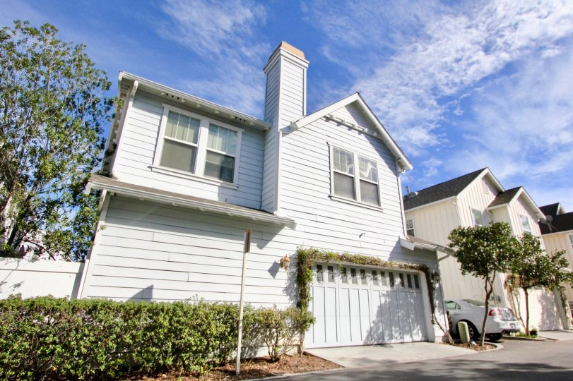 Two story home with garage in Sutters Mill, Ladera Ranch, California