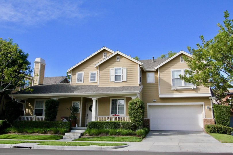 Fabulous outlook of a villa with trees and spacious parking in Trails of Ladera Ranch