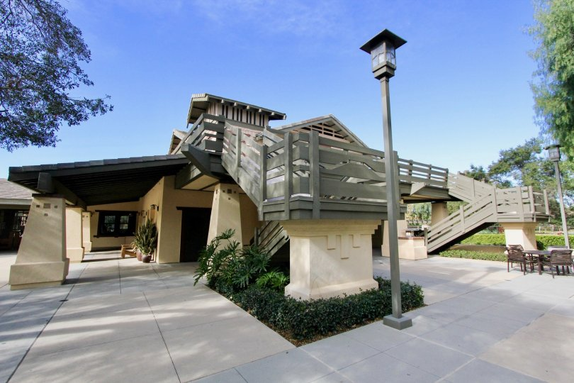 Fabulous structure of villa with lamps and sitting in Valmont of Ladera Ranch