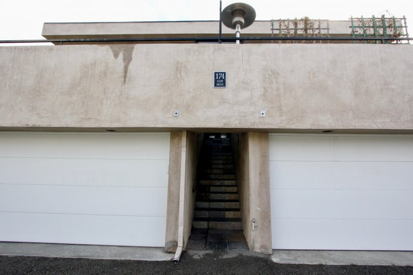 Attached garages available at 174 Cliff Drive in Laguna Beach, CA