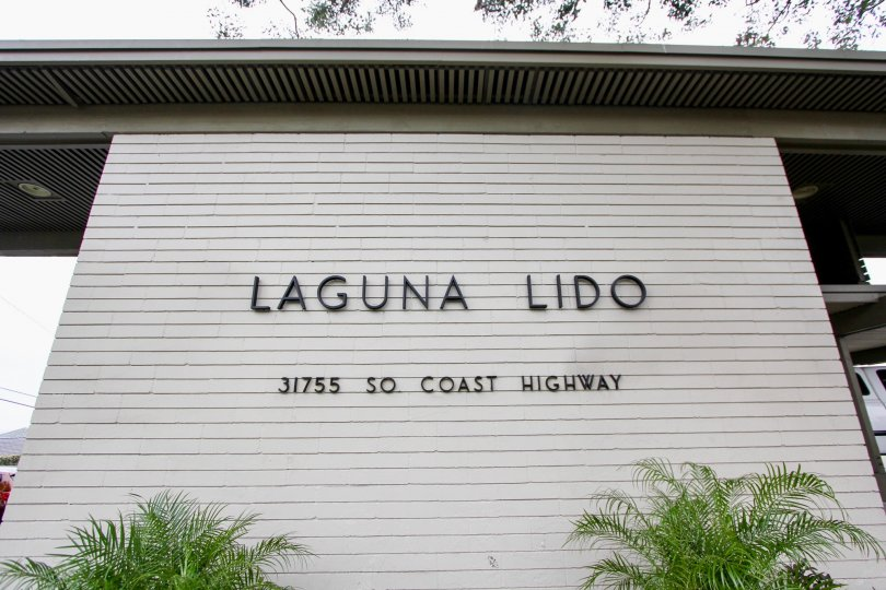 the Laguna Lido is a morden house of the laguna beach in CA