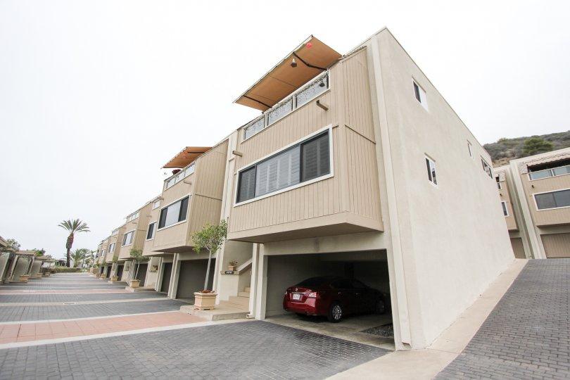 Attached garages available at Laguna Ocean Vista in Laguna Beach, CA