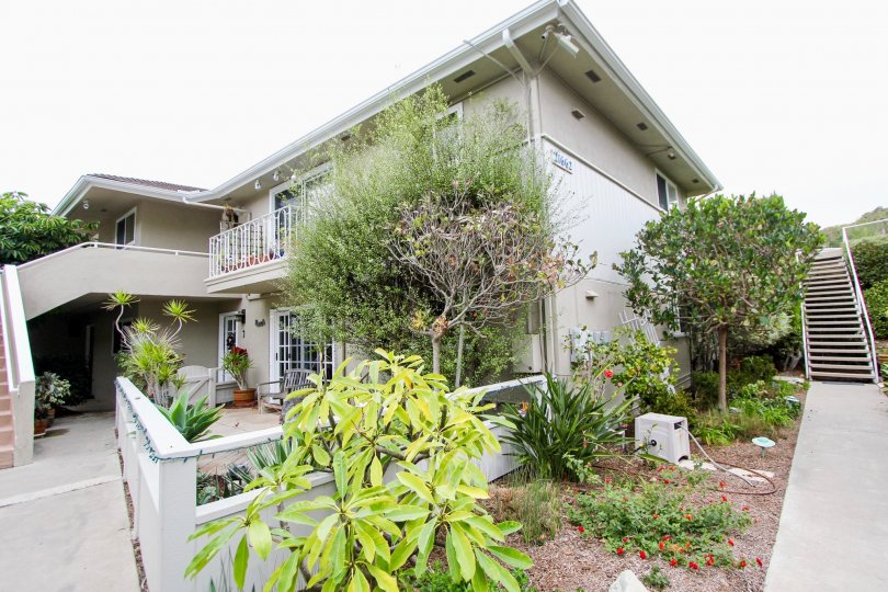 Two story condos with beautiful landscaping in Ocean Vista.