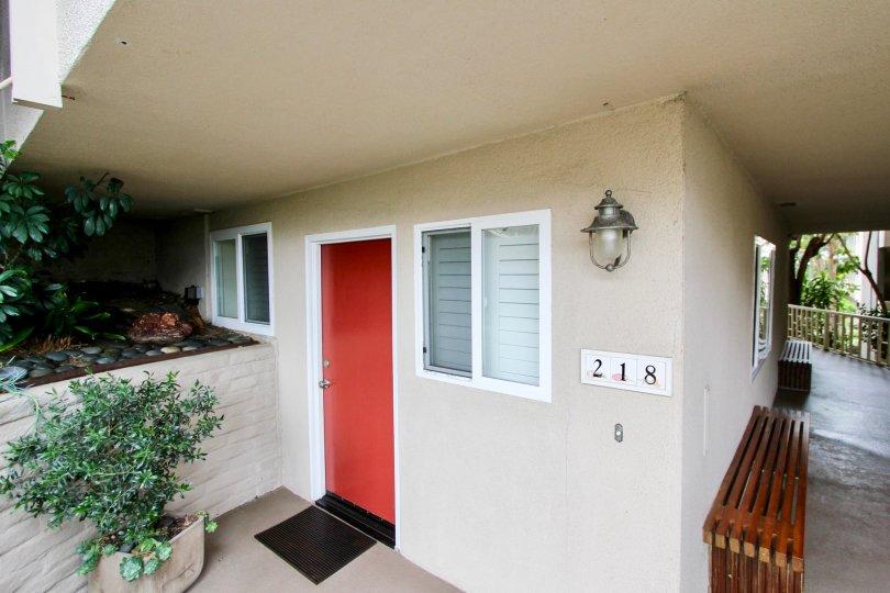 An apartment in the Table Rock community in Laguna Beach, California.