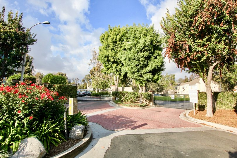 The gated community of Bridgeport Terrace in Laguna Niguel, California
