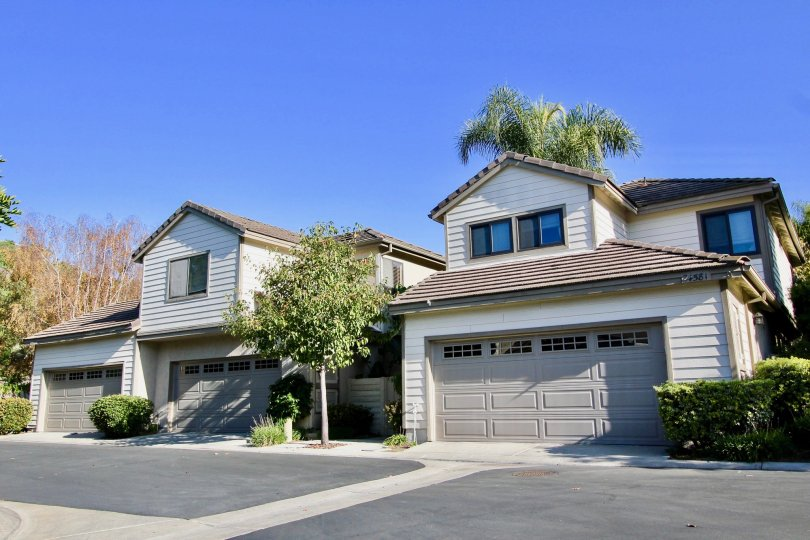 Lovely homes in the Camden Court community in Laguna Niguel, California