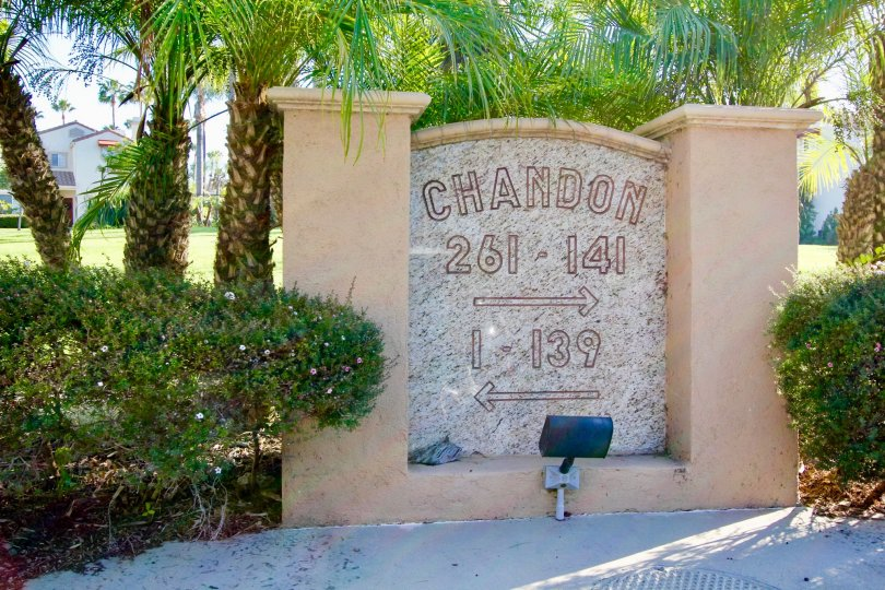 the chandon is a little flower park of the laguna niguel city in california