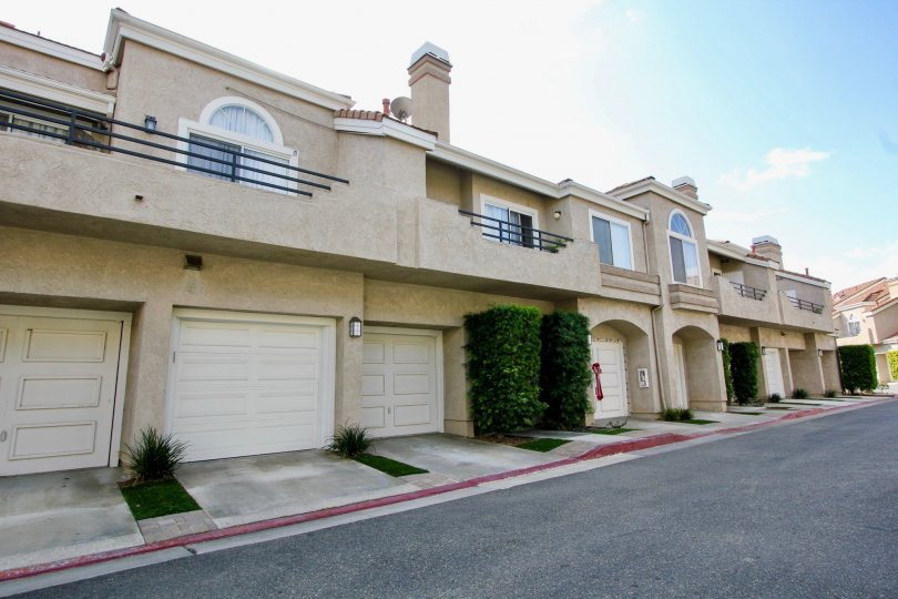 Beautiful road point and parking near villas of Expressions of Laguna Niguel