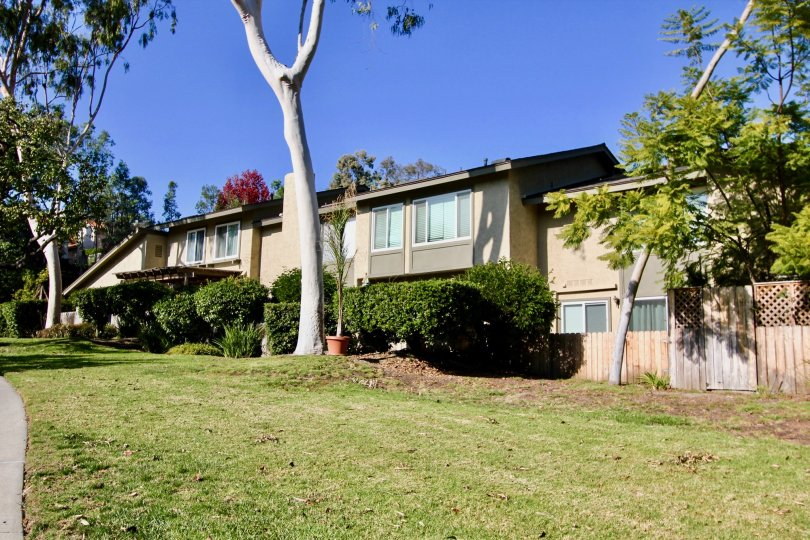 Big lawn in Foothill Townhomes in Laguna Niguel, CA