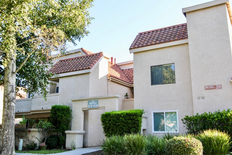 Close condos in Villa Mira in Laguna Niguel, California