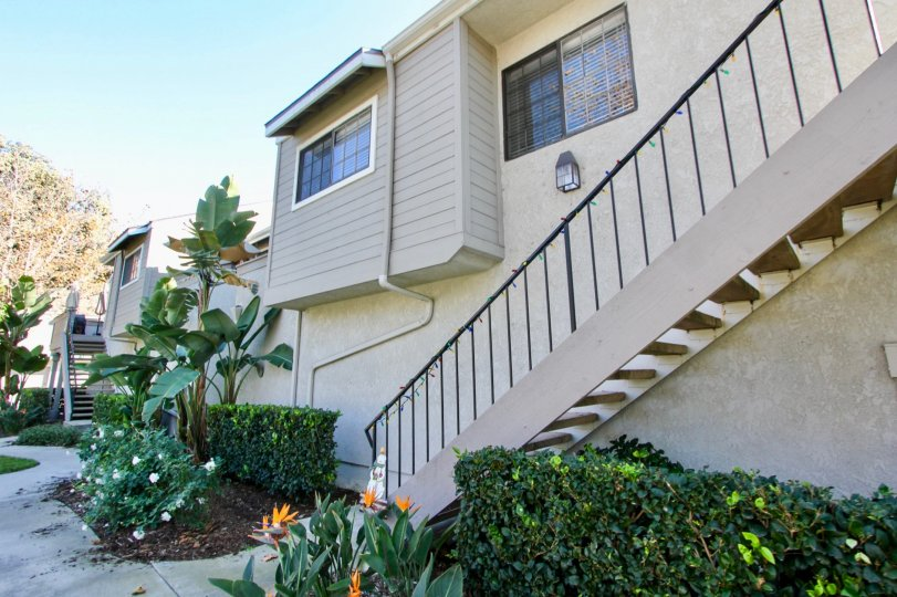 Backside of house in Village Niguel Terrace I, Laguna Niguel California