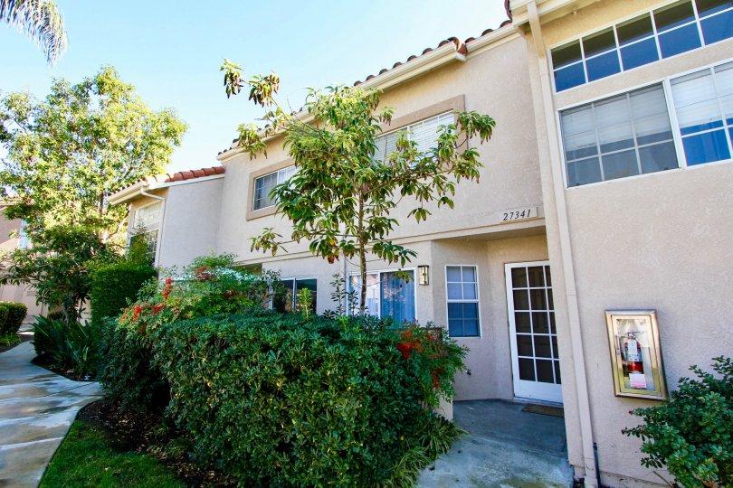 Bright, lush apartment complex in the Village Niguel Terrace of Laguna Niguel California