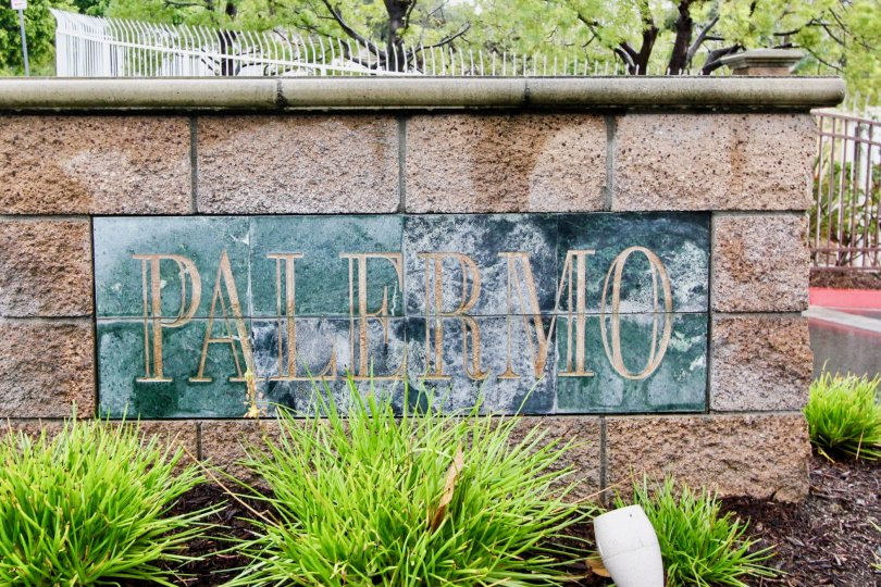 A SIGHT OF PARK NAMED AS PALERMO IN PALERMO, LAKE FOREST, CA