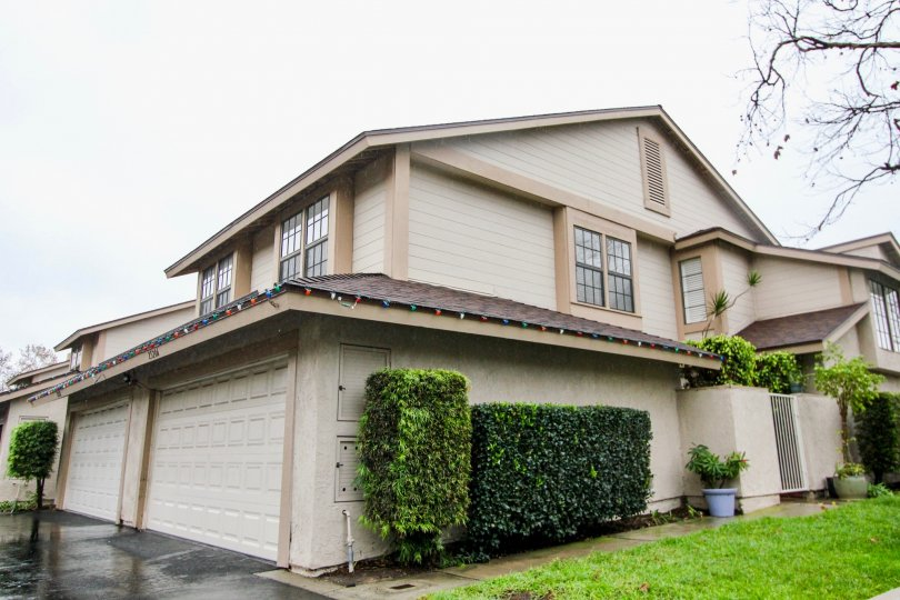 A two garage, large home in the Smoketree community in Lake Forest, California.