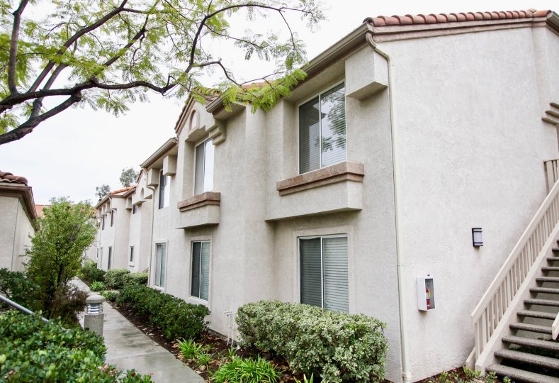 Apartments with outdoor space at Villorio in Lake Forest, California
