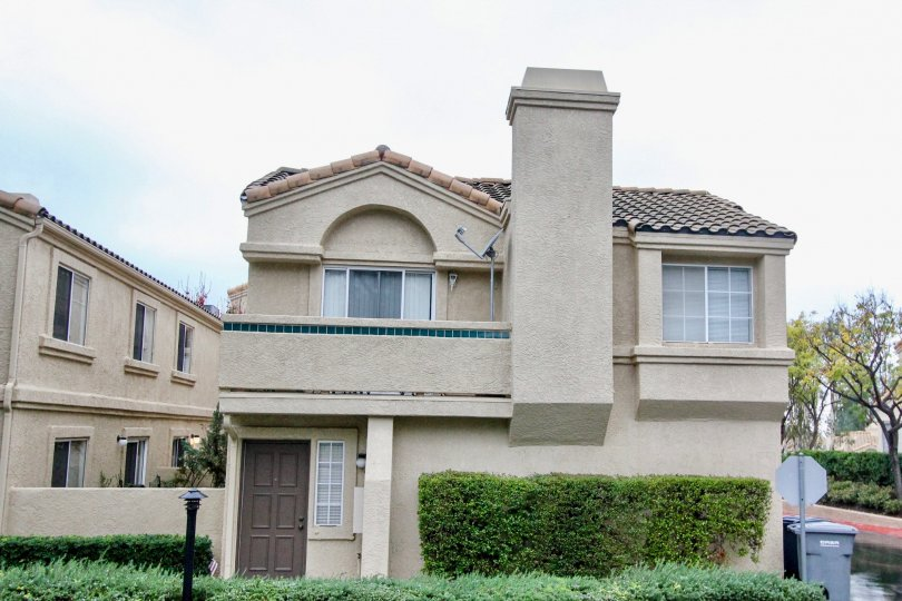 A cloudy day at a lovely residence in Vista Del Flores in Lake Forest, California