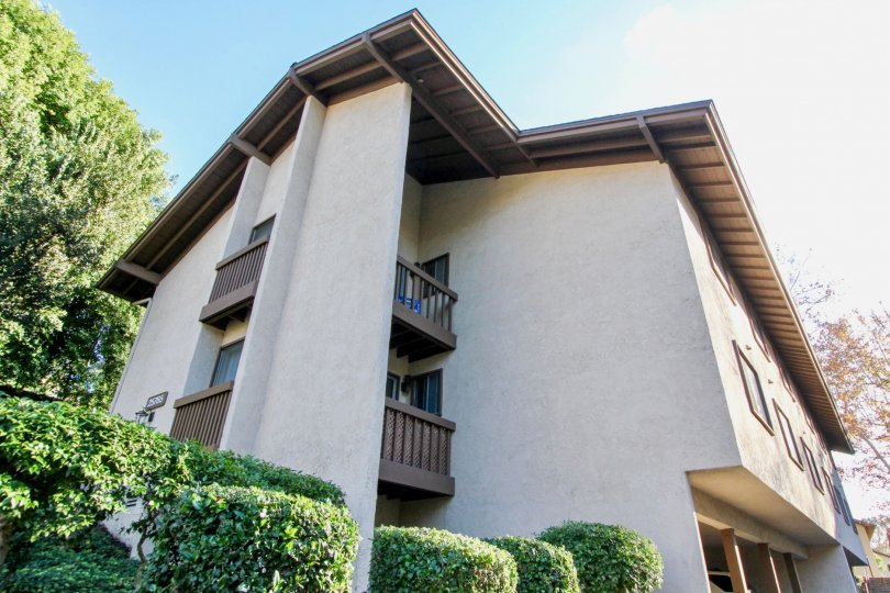 a home with two balcony in the city of mission viejo in the state of california