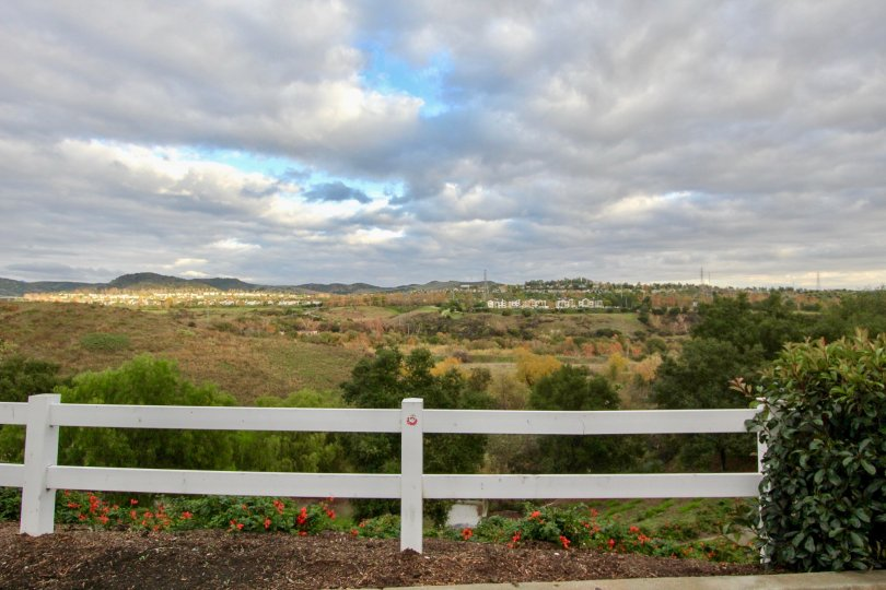 The lovely view in the community of Emerald Point II in Mission Viejo, California
