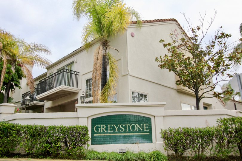 Clear sky above the Greystone Califia in Mission Viejo, CA