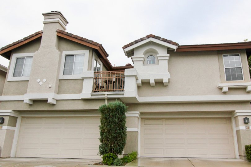 Housing units in Mirasol community of Mission Viejo California