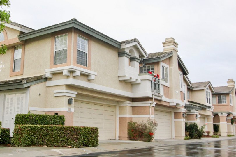 Impressive structrual appeal shown for the units at the Mirasol