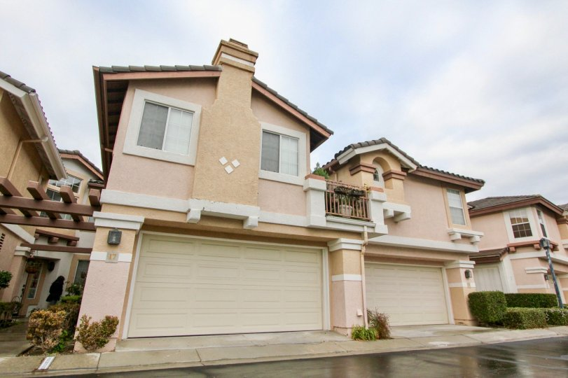 Curb appeal at Mirasol in Mission Viejo, California.