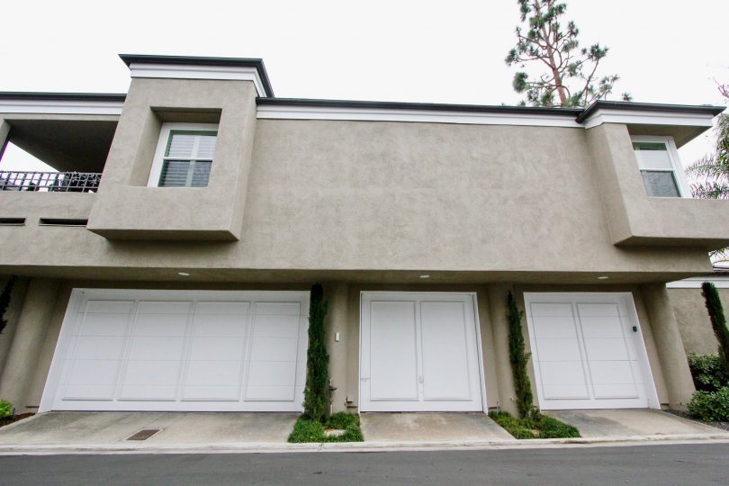Garages available at the Bayview Court community in Newport Beach, CA