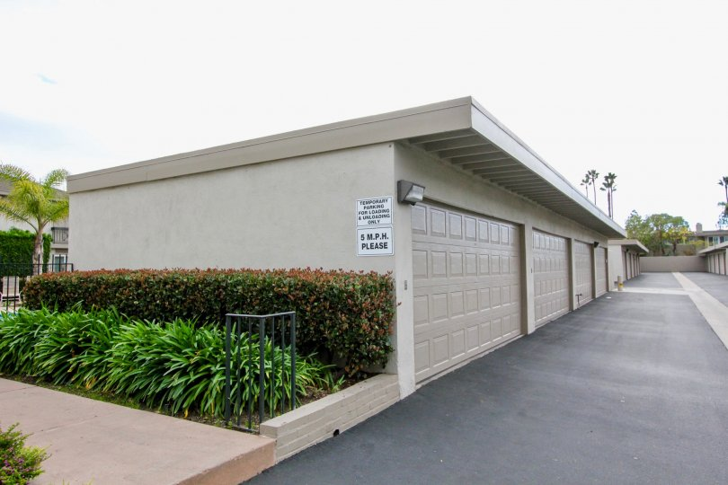 Garages available at Dover Village in Newport Beach, CA