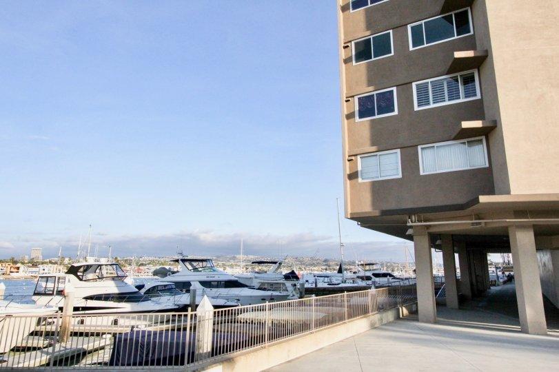 Beautiful Newport Bay Towers In Newport Beach California Country