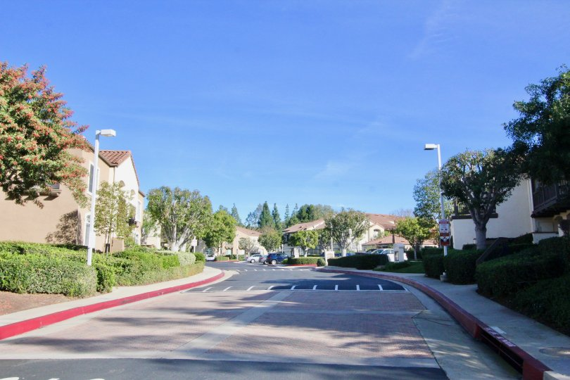 Canyon Hills Orange California was enjoyable for walking because of this broader clean paths and lights in its side