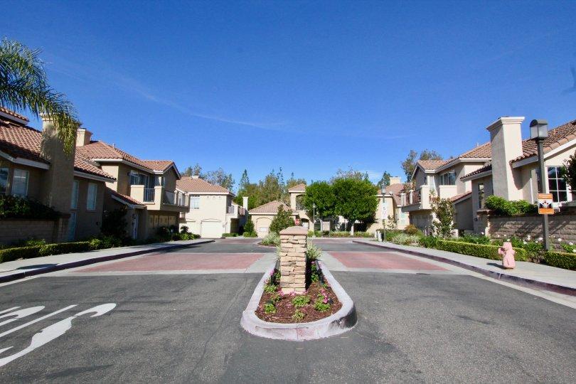 A medium in the Montevista community in Orange California.