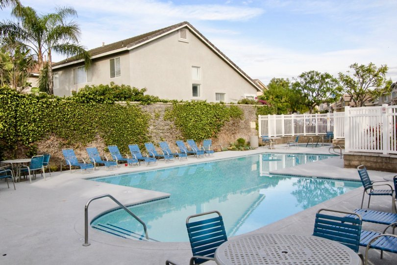Sycamore Crossing House Building have Attractive Beautiful Pool at Orange City in Califorina