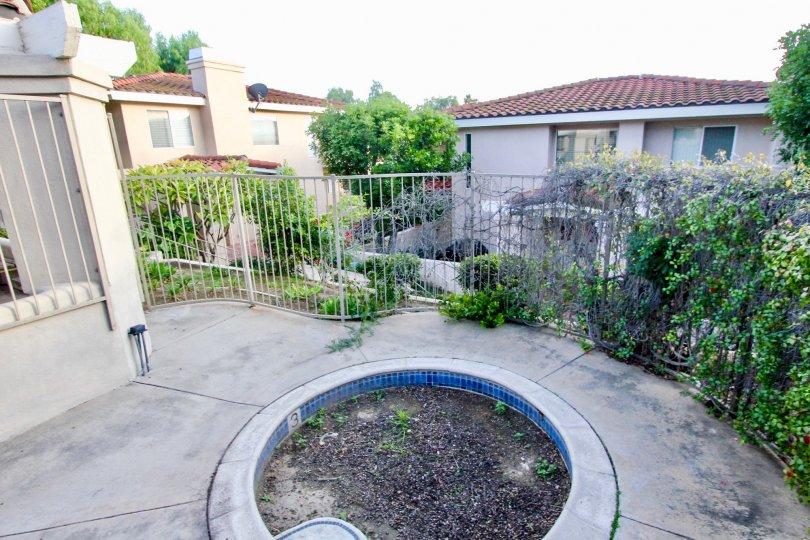 walkway in Villa Heights in Orange California