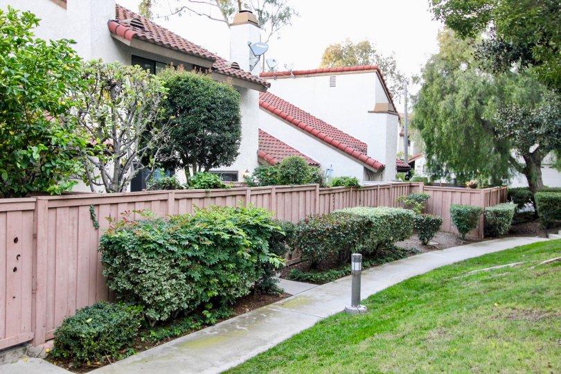 Villa La Paloma House Building at Santa Ana city Beautiful Green Park at Orange City in Califorina