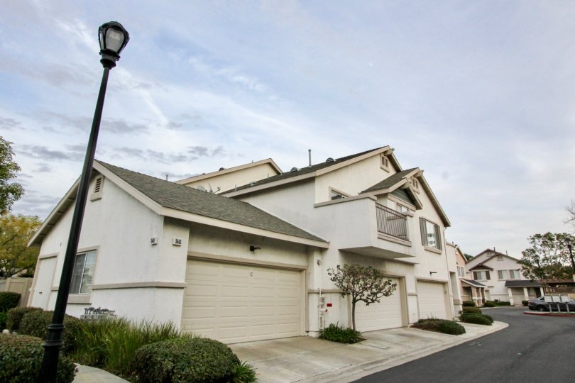 Condo units with multiple garages at Westbury in Orange CA