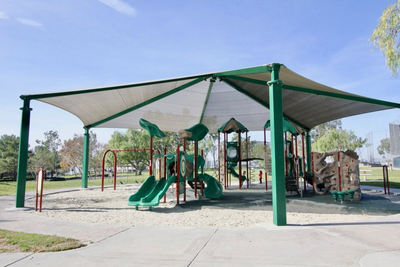 A sunny day at the park in Ballantree community in Rancho santa Margarita, California.