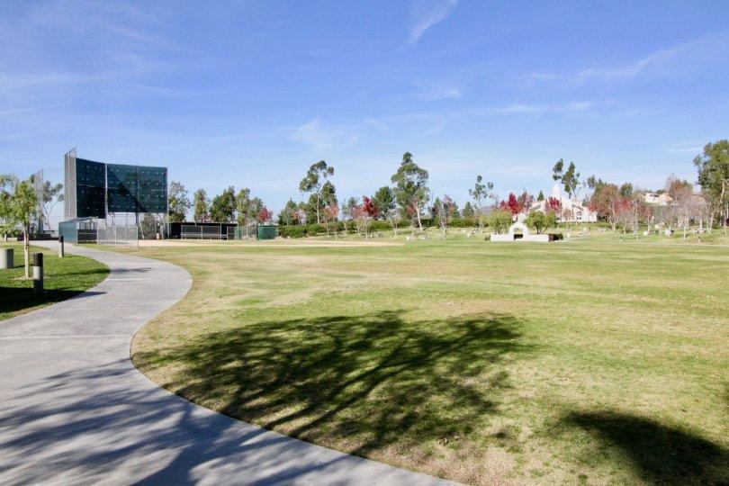 Large field in Ballantree in Rancho Santa Margaritia, CA