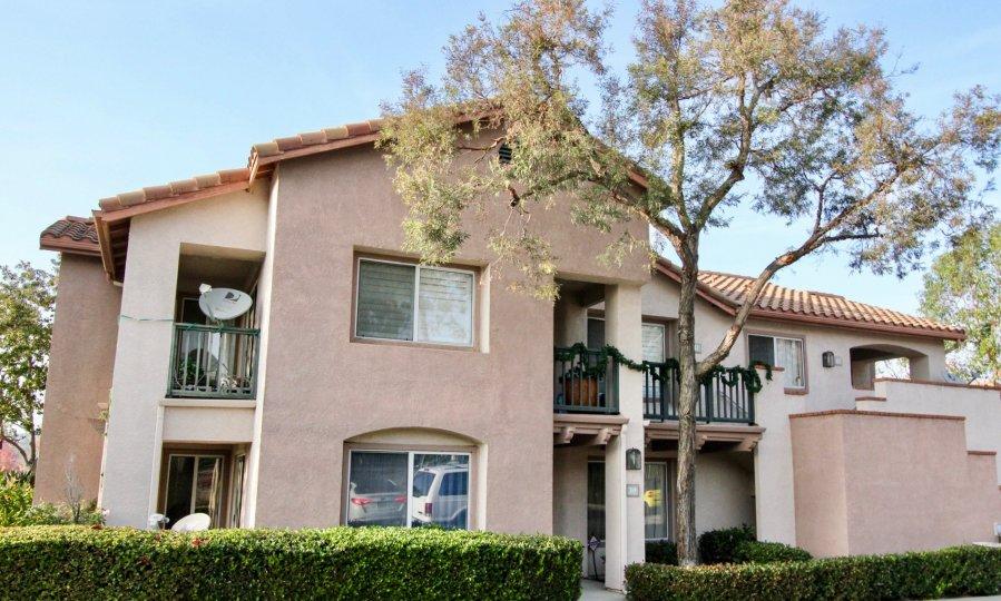 A house with antenna in Bella Ventana in Rancho Santa Margarita, CA