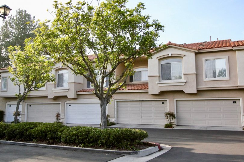 Adequate parking for guests and easy access to two-car garage units at the Bella Ventana community